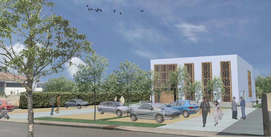 Projet de construction de la mosquée